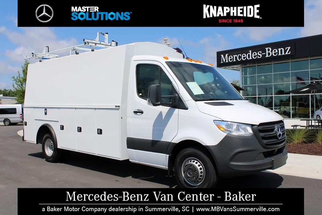 2020 Mercedes-Benz Sprinter 4500 DRW 4x2, Knapheide Service Utility Van #MV0160 - photo 1