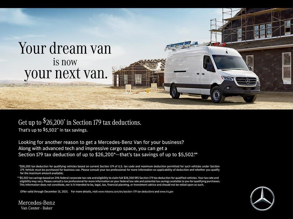2021 Mercedes-Benz Sprinter 3500 4x2, Empty Cargo Van #MV0240 - photo 4