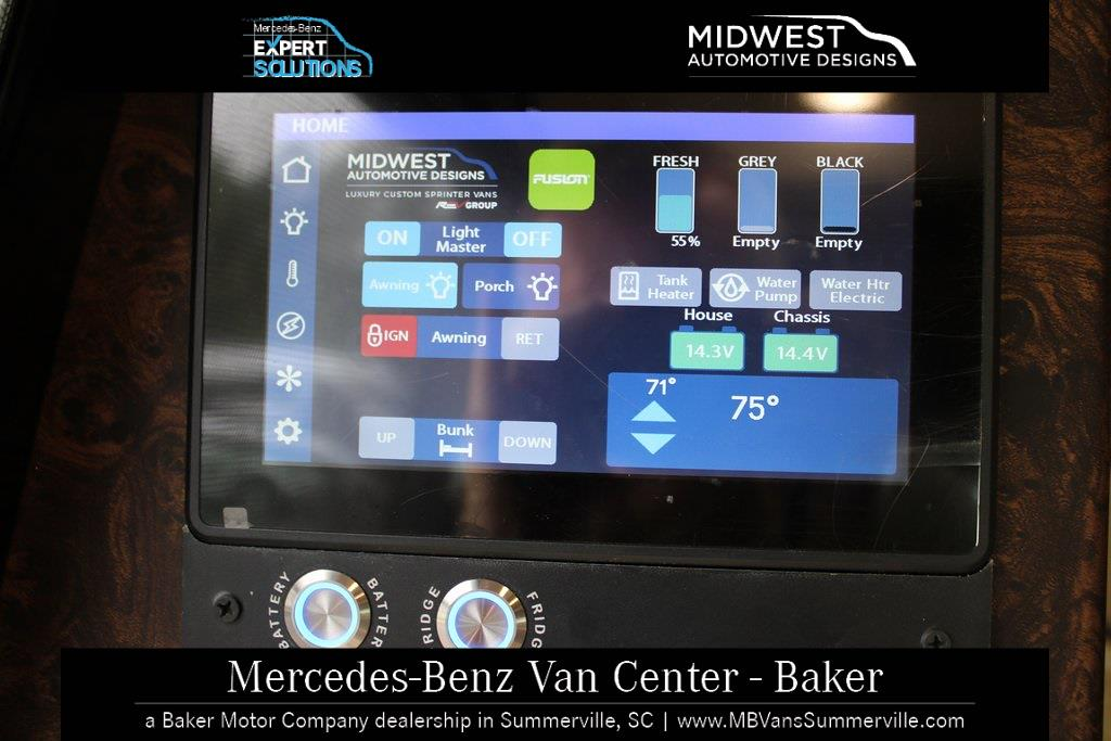 2020 Sprinter 3500XD High Roof DRW 4x2, Midwest Automotive Designs Passage Weekender MD2 Loft Dinette Eco Freedom #MV0260 - photo 50