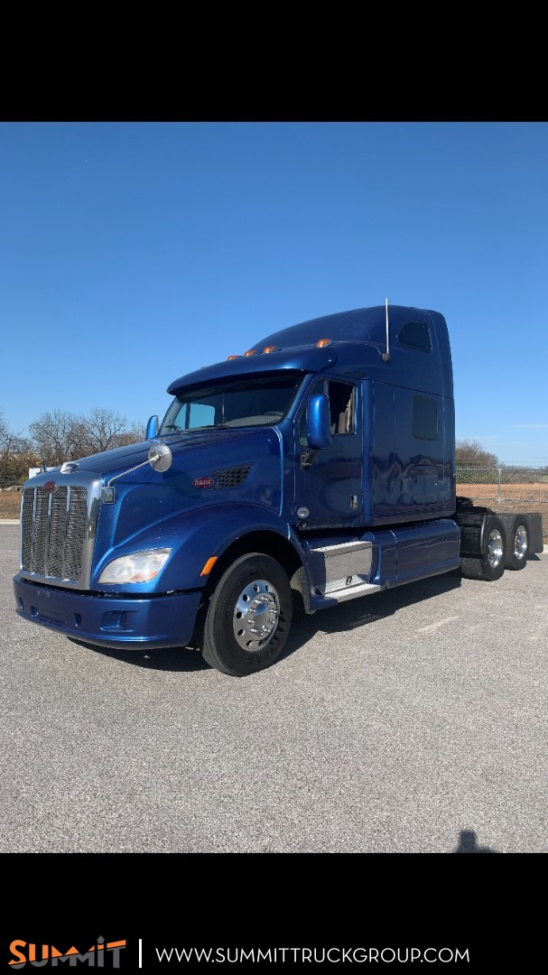2013 Peterbilt Truck Sleeper Cab 6x4, Tractor #150P201550 - photo 1