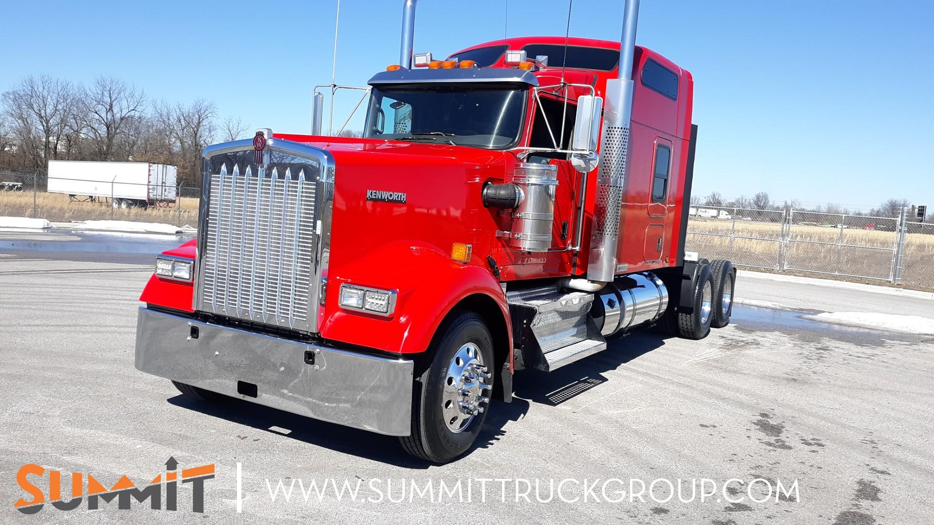 2016 Kenworth W900 Sleeper Cab 6x4, Tractor #150P202361 - photo 1