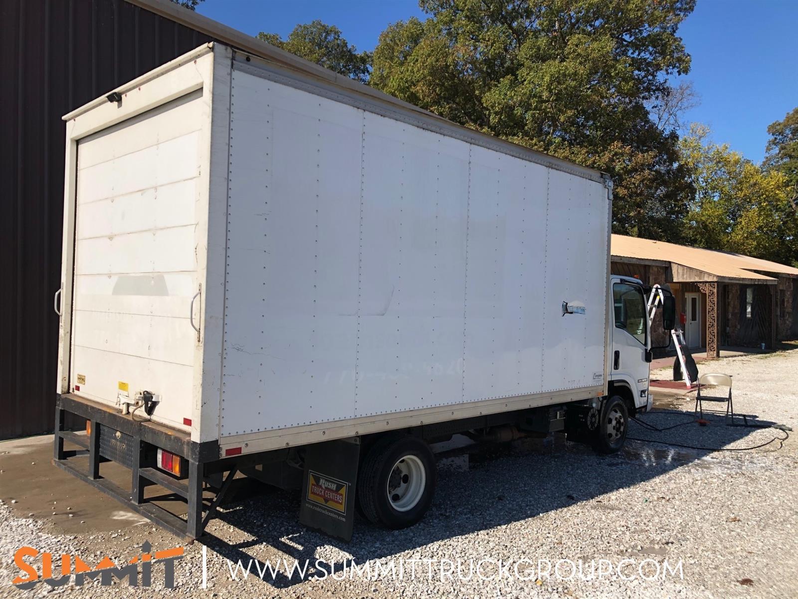 2016 Isuzu NPR Regular Cab 4x2, Dry Freight #150P201577 - photo 1