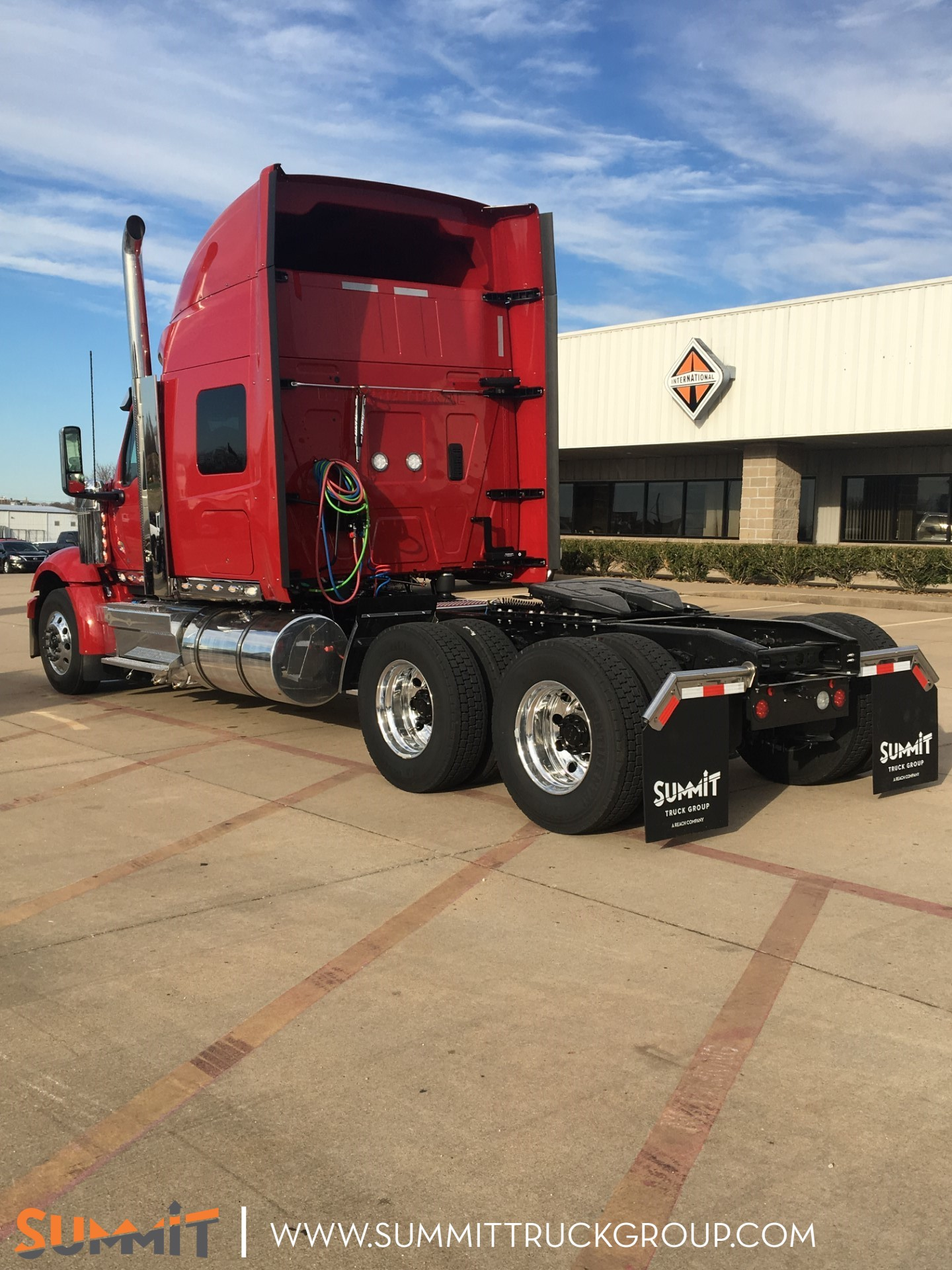 2021 International LoneStar Sleeper Cab 6x4, Tractor #MN523149 - photo 1