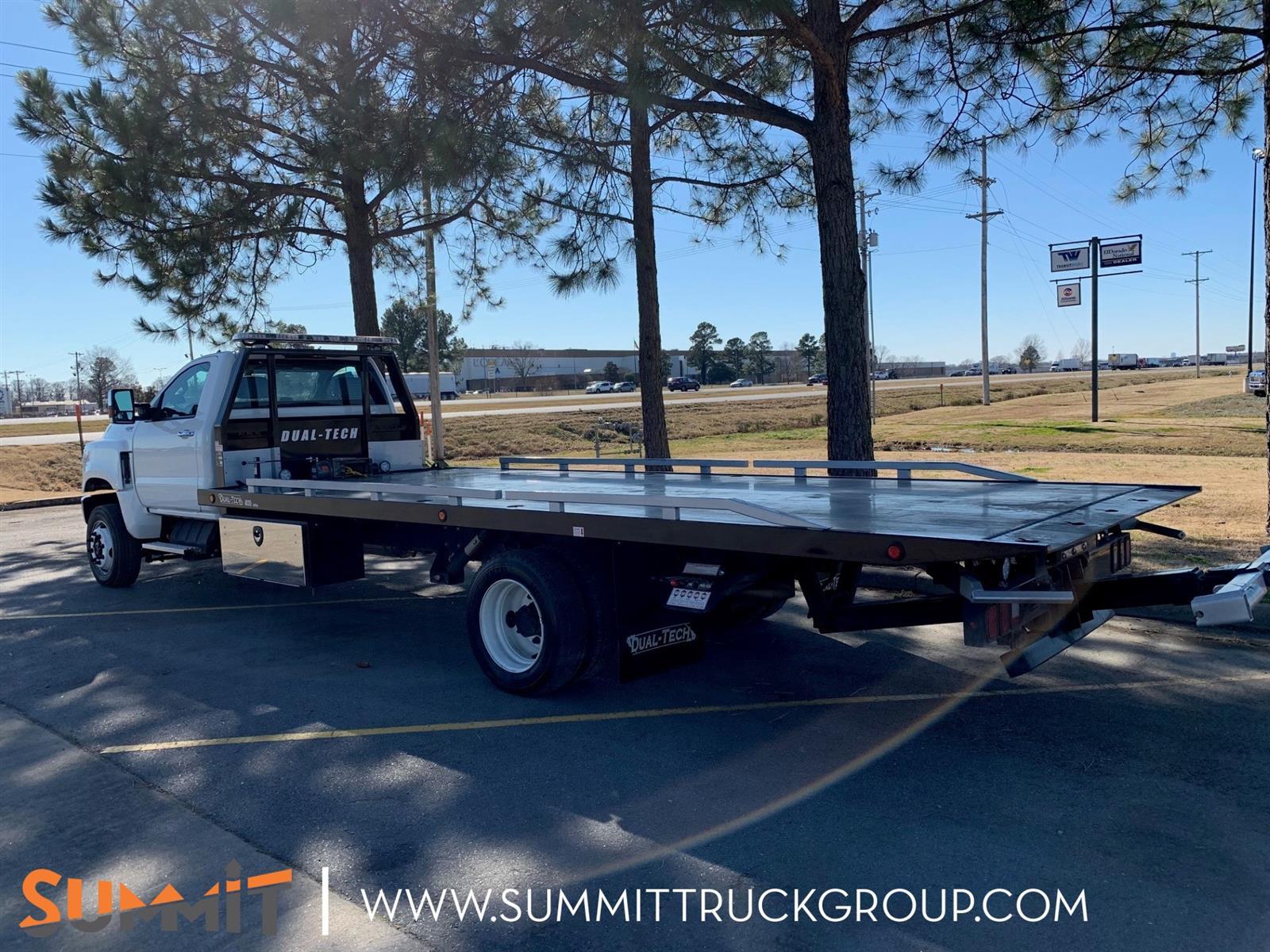 2019 International CV Regular Cab 4x4, Dual-Tech Rollback Body #210T210135 - photo 1