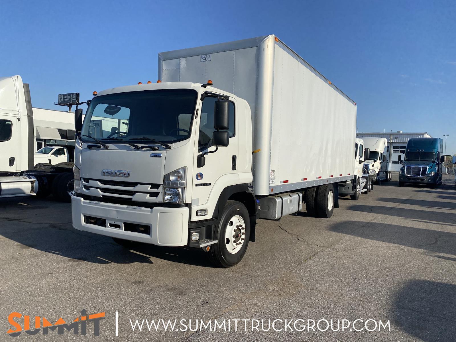 2018 Isuzu FTR Regular Cab 4x2, Dry Freight #160P210511 - photo 1