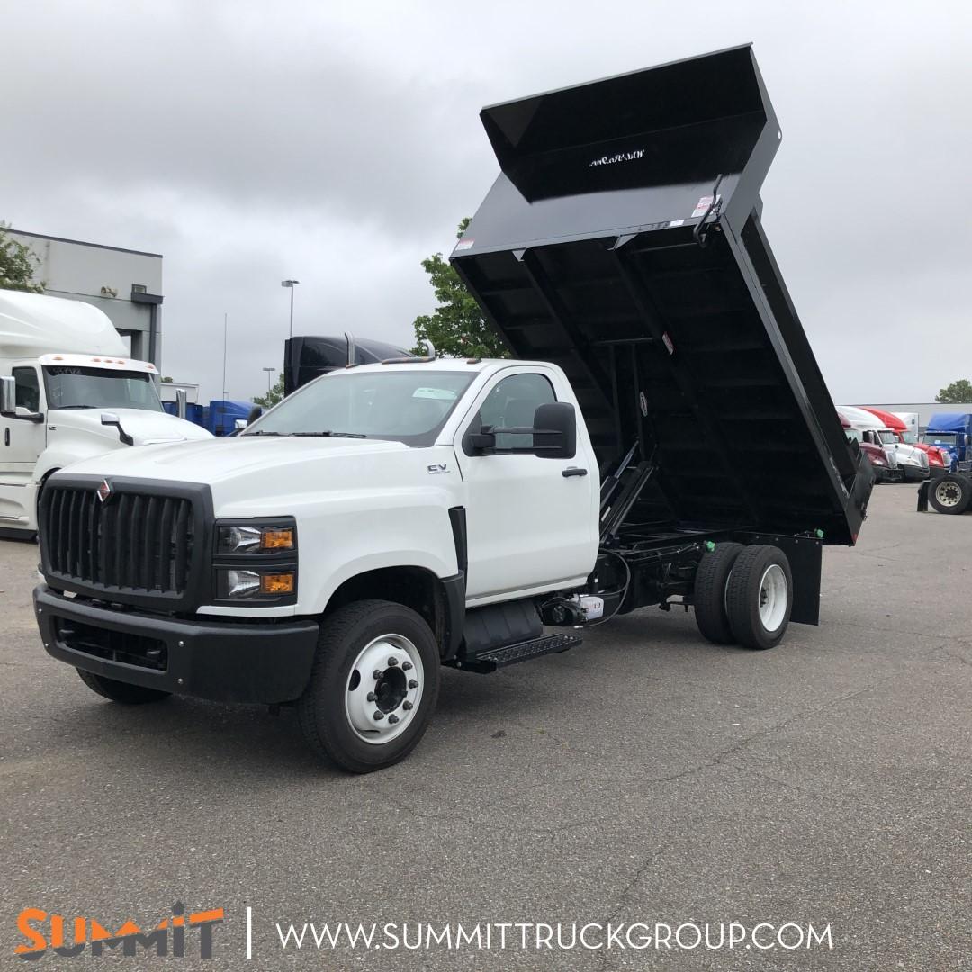 2020 International CV Regular Cab 4x2, Wil-Ro Dump Body #LH072297 - photo 1