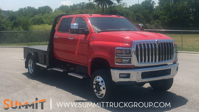 2020 International CV Crew Cab 4x4, Bus Andrews Truck Equipment Sales Service Inc. Platform Body #LH871043 - photo 1