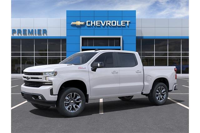 2021 Chevrolet Silverado 1500 Crew Cab 4x4, Pickup #RC1588 - photo 3