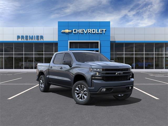 2021 Chevrolet Silverado 1500 Crew Cab 4x4, Pickup #C1619 - photo 1