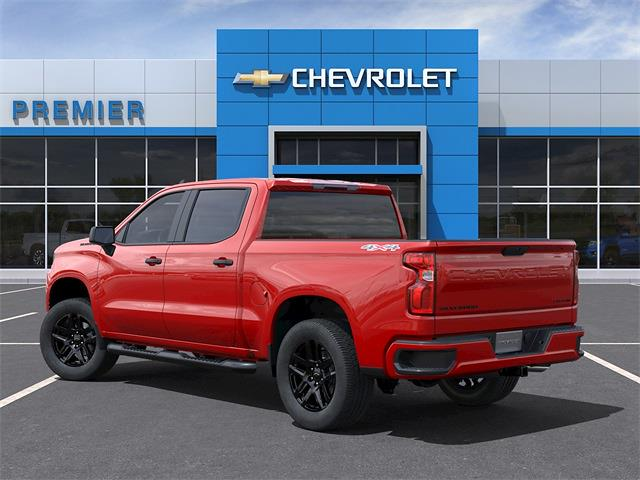 2021 Chevrolet Silverado 1500 Crew Cab 4x4, Pickup #C1647 - photo 4