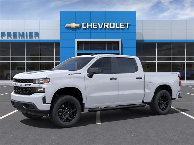 2021 Chevrolet Silverado 1500 Crew Cab 4x4, Pickup #C1676 - photo 3