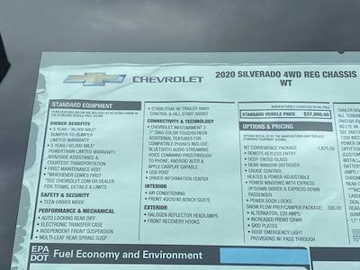 2020 Silverado 3500 Regular Cab DRW 4x4,  Rugby Eliminator LP Steel Dump Body #Q200989 - photo 33