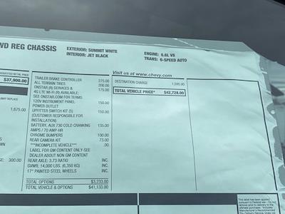 2020 Silverado 3500 Regular Cab DRW 4x4,  Rugby Eliminator LP Steel Dump Body #Q200989 - photo 34