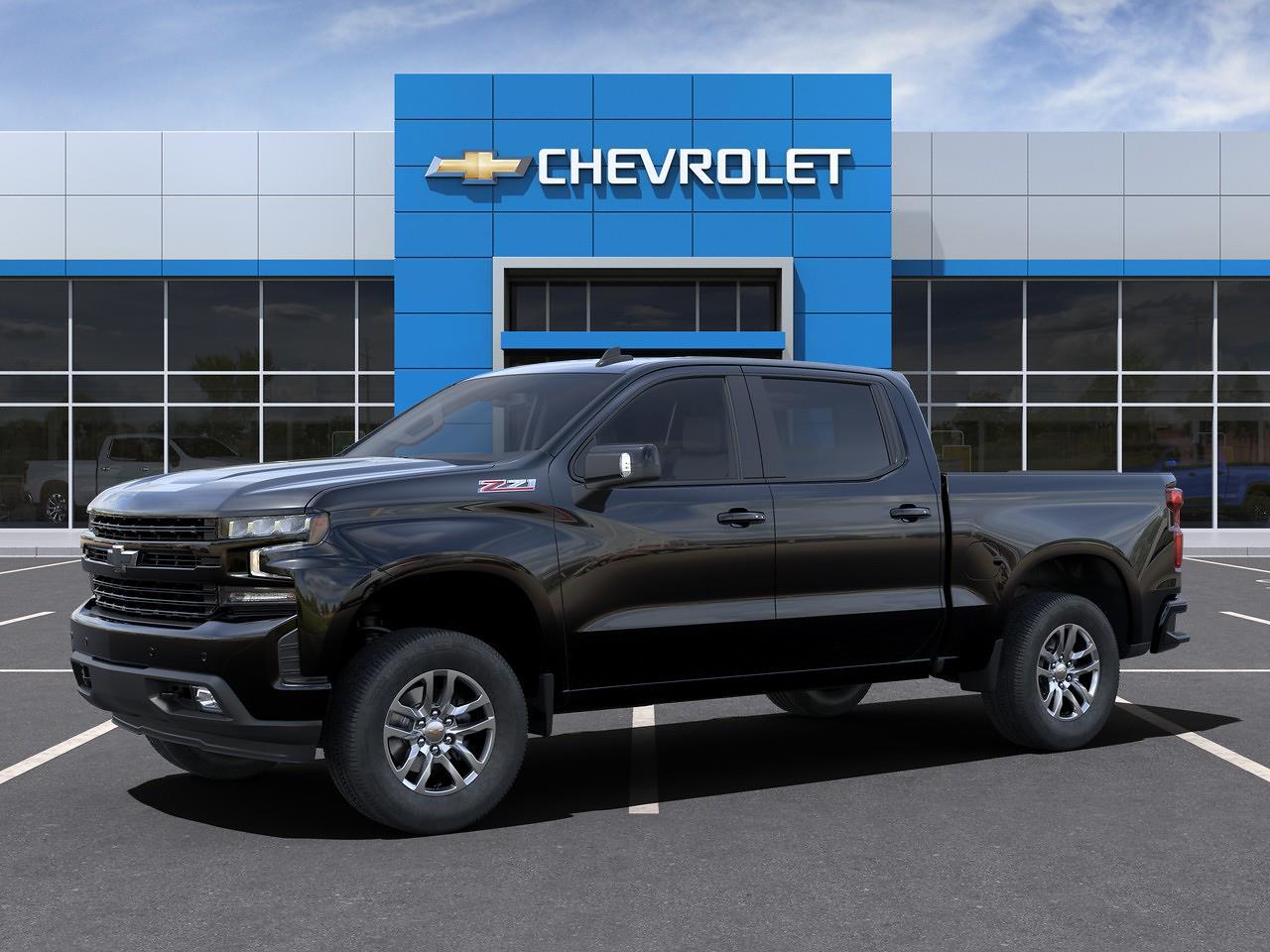 2021 Chevrolet Silverado 1500 Crew Cab 4x4, Pickup #Q210130 - photo 43