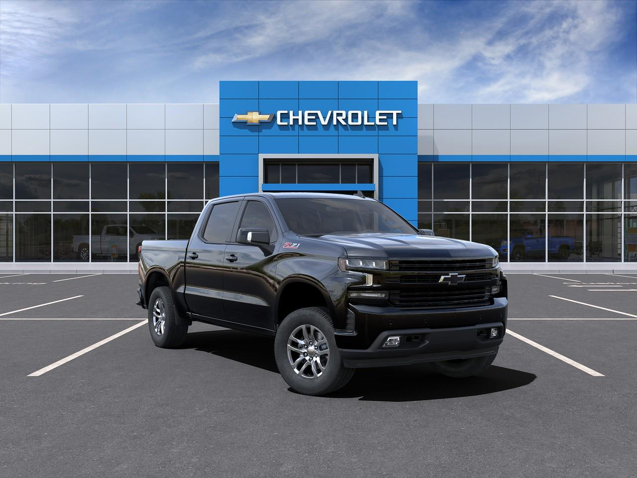 2021 Chevrolet Silverado 1500 Crew Cab 4x4, Pickup #Q210130 - photo 47