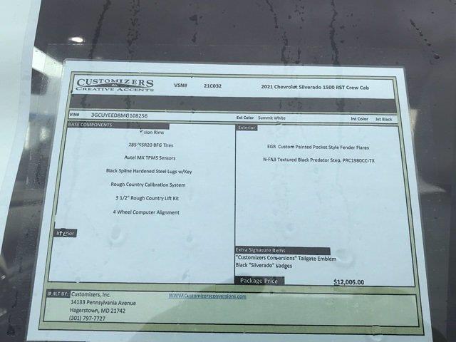 2021 Chevrolet Silverado 1500 Crew Cab 4x4, Pickup #Q210132 - photo 30