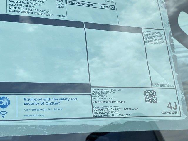 2021 Chevrolet Express 3500 4x2, Dejana DuraCube Cutaway Van #Q210260 - photo 41