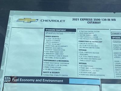 2021 Chevrolet Express 3500 4x2, Dejana DuraCube Cutaway Van #Q210260 - photo 40