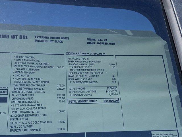 2021 Chevrolet Silverado 2500 Double Cab 4x4, Western Snowplow Pickup #Q210287 - photo 36