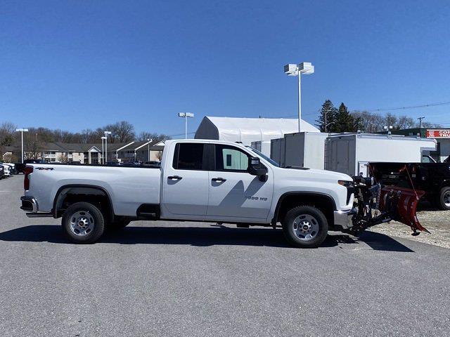 2021 Chevrolet Silverado 2500 Double Cab 4x4, Western Snowplow Pickup #Q210287 - photo 6