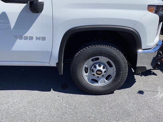 2021 Chevrolet Silverado 2500 Double Cab 4x4, Western Snowplow Pickup #Q210287 - photo 9