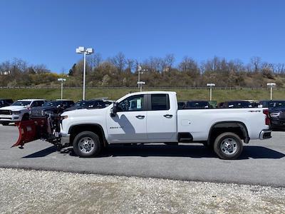 2021 Chevrolet Silverado 2500 Double Cab 4x4, Western Snowplow Pickup #Q210287 - photo 3