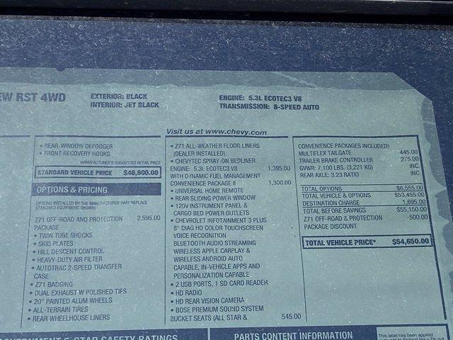 2021 Chevrolet Silverado 1500 Crew Cab 4x4, Pickup #Q210339 - photo 37