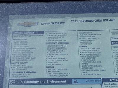 2021 Chevrolet Silverado 1500 Crew Cab 4x4, Pickup #Q210339 - photo 35