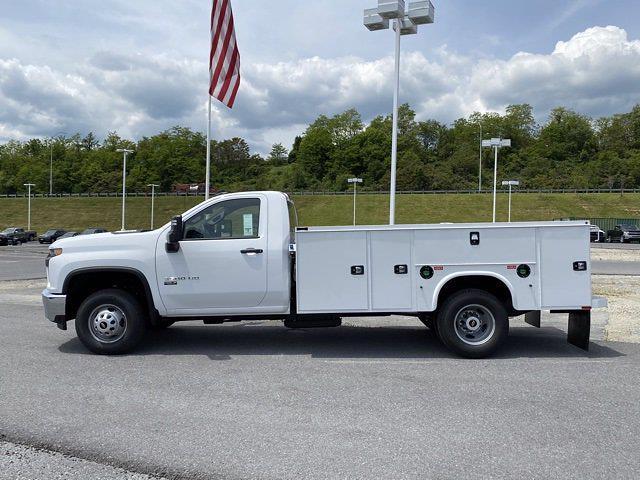 2021 Chevrolet Silverado 3500 Regular Cab 4x4, Service Body #Q210368 - photo 3