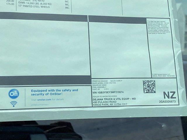 2021 Chevrolet Silverado 3500 Regular Cab 4x4, Service Body #Q210368 - photo 39