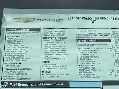 2021 Chevrolet Silverado 3500 Regular Cab 4x4, Service Body #Q210368 - photo 37