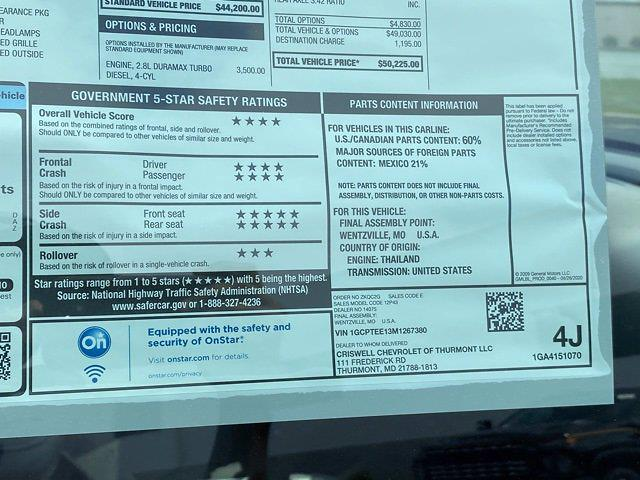 2021 Chevrolet Colorado Crew Cab 4x4, Pickup #Q210371 - photo 36