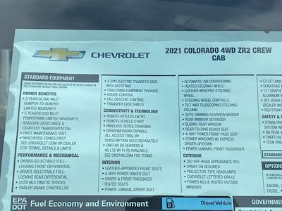 2021 Chevrolet Colorado Crew Cab 4x4, Pickup #Q210371 - photo 34