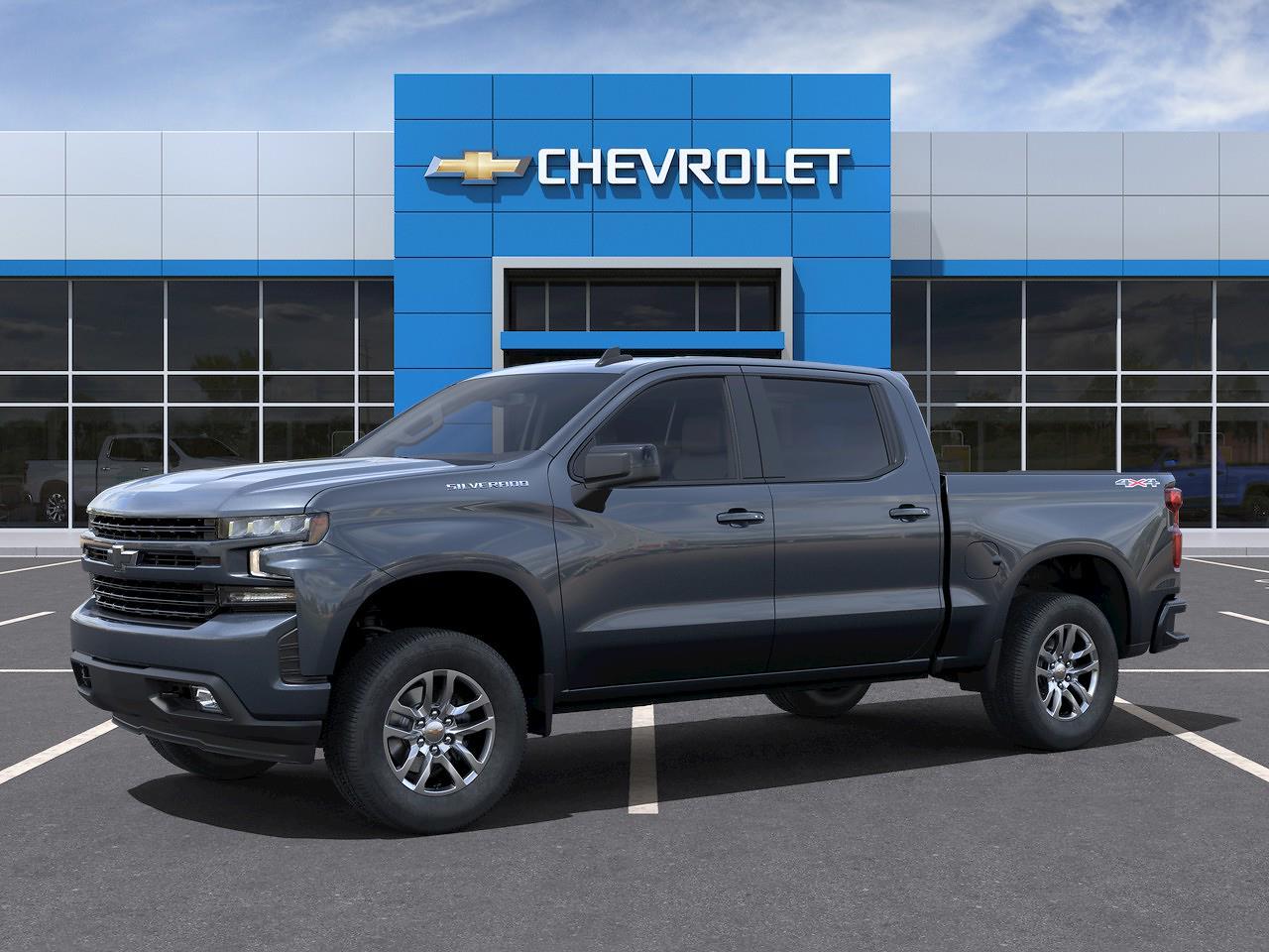 2021 Chevrolet Silverado 1500 Crew Cab 4x4, Pickup #Q210399 - photo 22