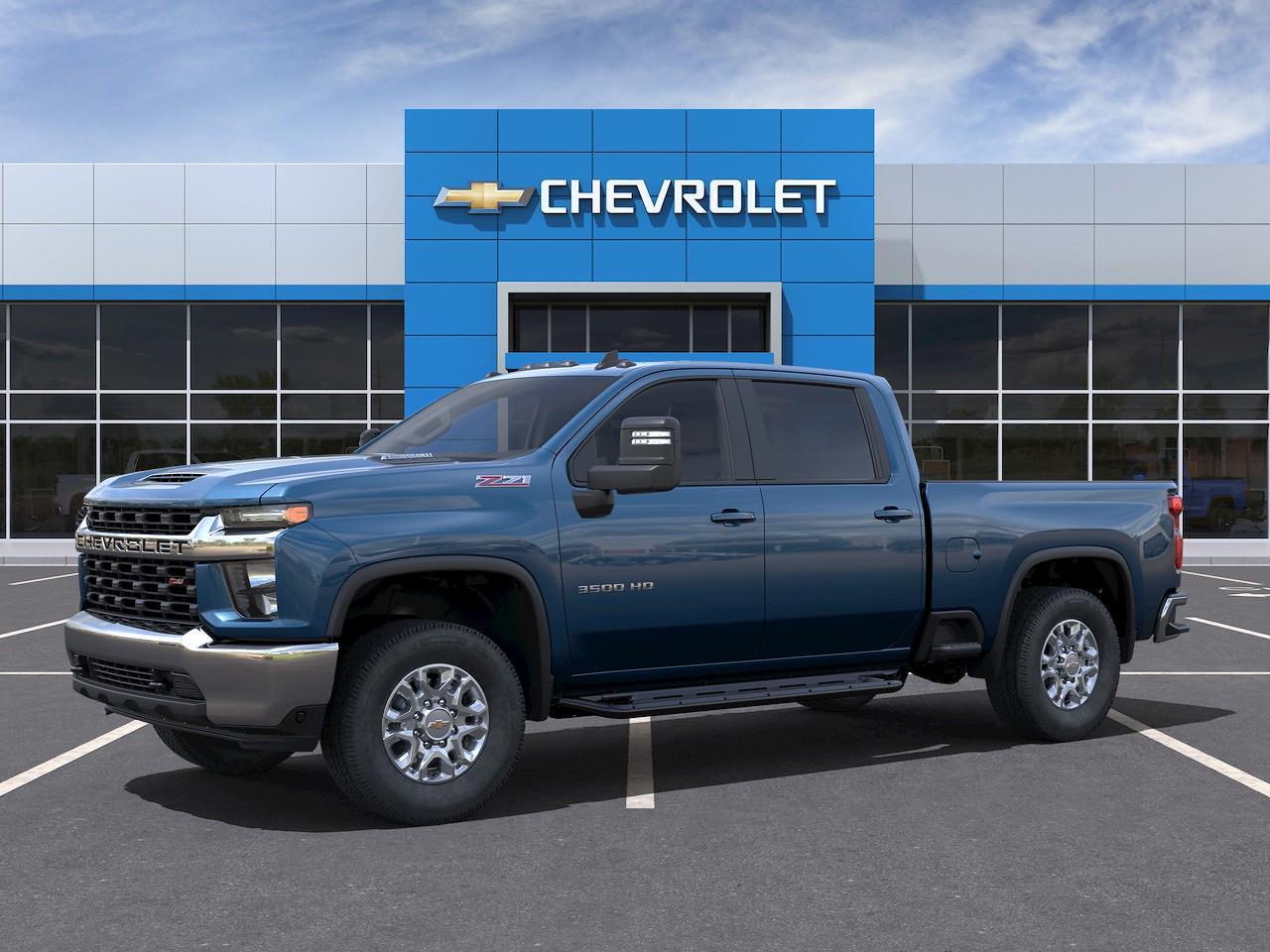 2021 Chevrolet Silverado 3500 Crew Cab 4x4, Pickup #Q210427 - photo 3