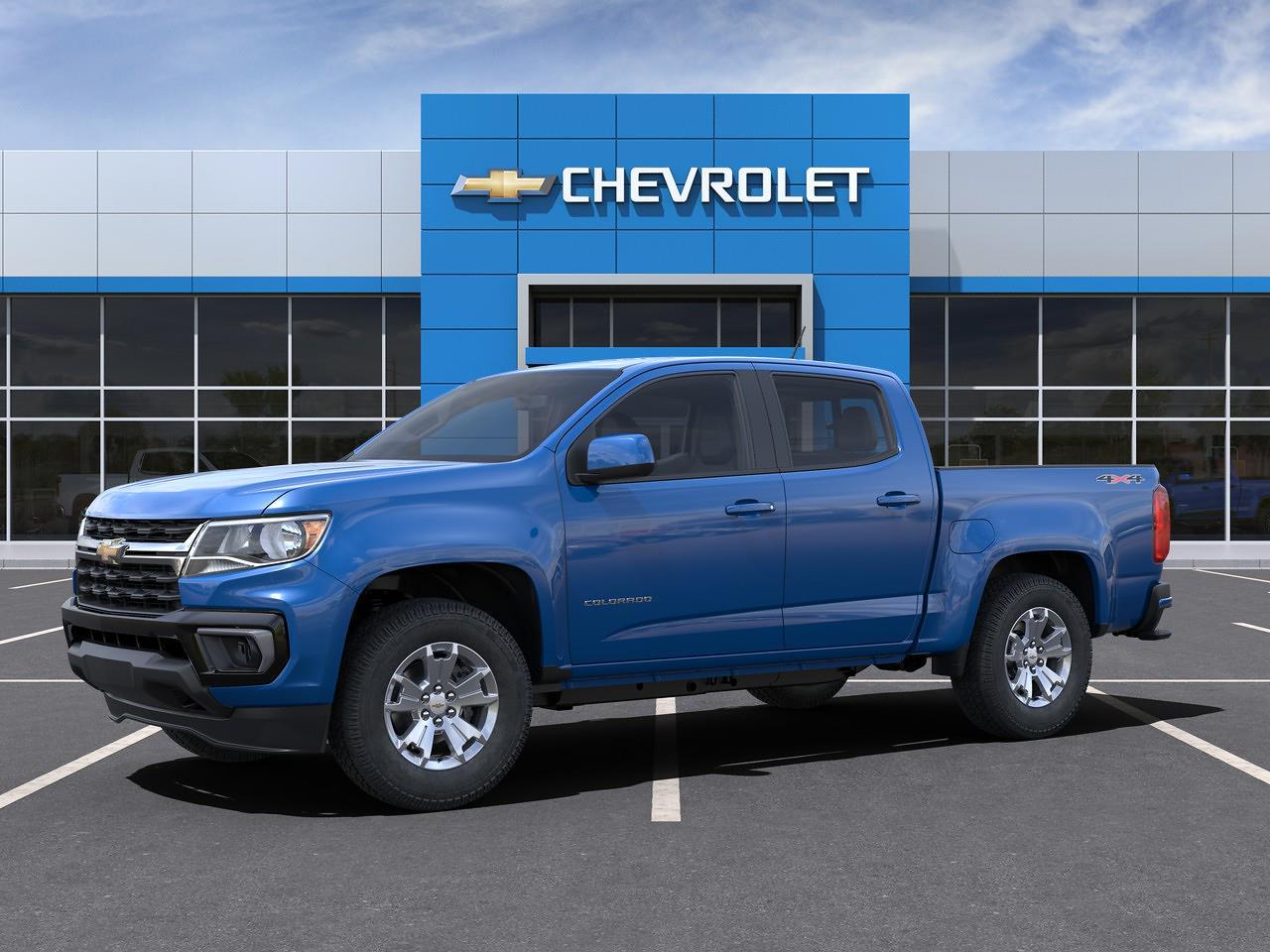 2021 Chevrolet Colorado Crew Cab 4x4, Pickup #Q210428 - photo 3