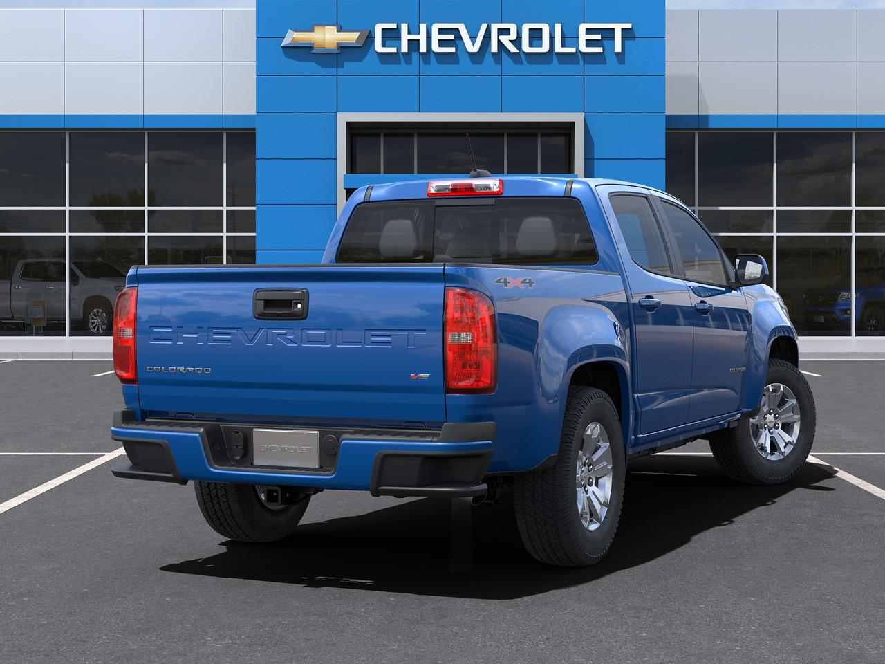 2021 Chevrolet Colorado Crew Cab 4x4, Pickup #Q210428 - photo 2