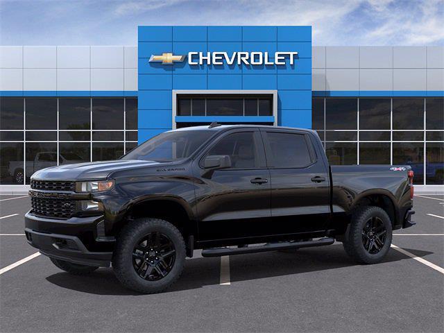 2021 Chevrolet Silverado 1500 Crew Cab 4x4, Pickup #Q210442 - photo 3