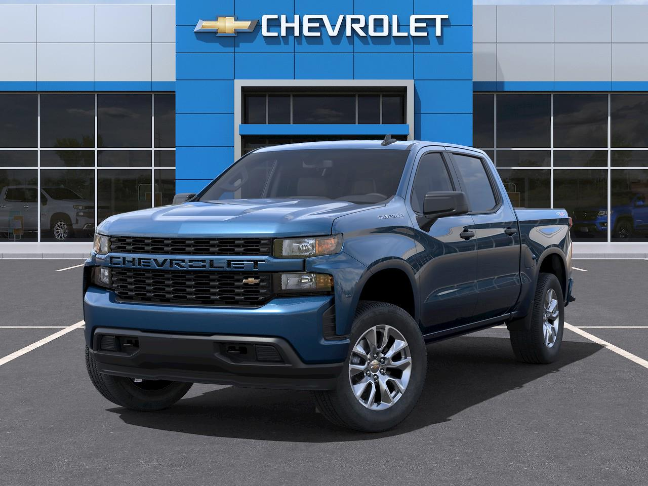 2021 Chevrolet Silverado 1500 Crew Cab 4x4, Pickup #Q210444 - photo 6