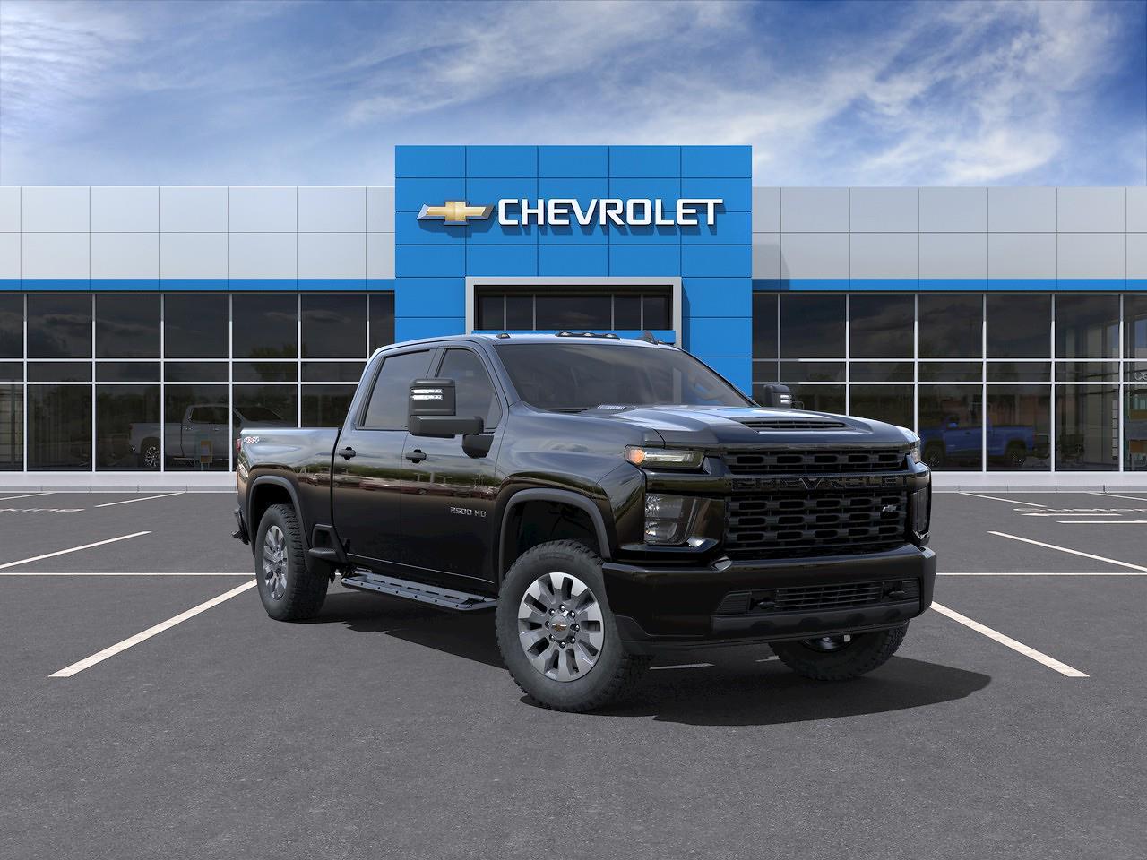 2021 Chevrolet Silverado 2500 Crew Cab 4x4, Pickup #Q210448 - photo 1