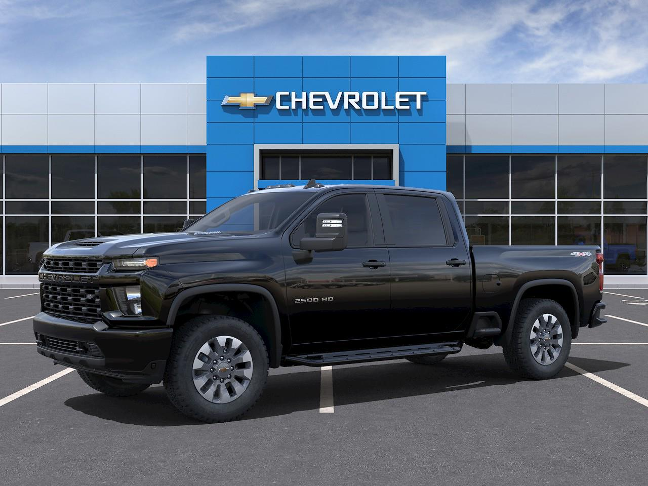 2021 Chevrolet Silverado 2500 Crew Cab 4x4, Pickup #Q210455 - photo 3