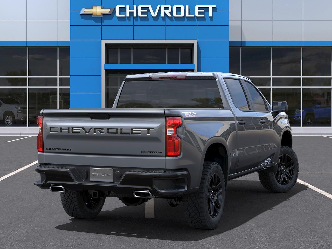 2021 Chevrolet Silverado 1500 Crew Cab 4x4, Pickup #Q210466 - photo 2