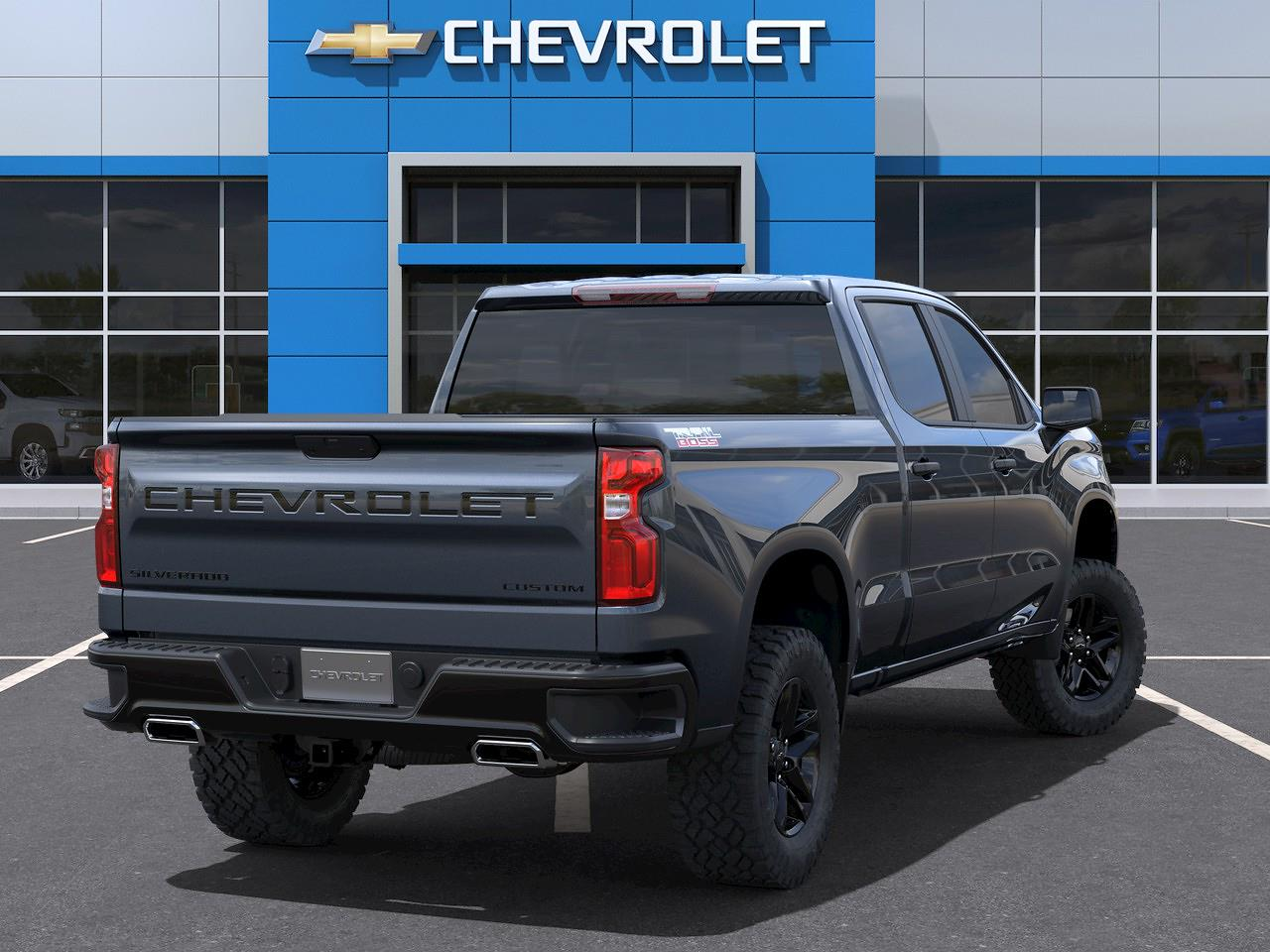 2021 Chevrolet Silverado 1500 Crew Cab 4x4, Pickup #Q210467 - photo 2