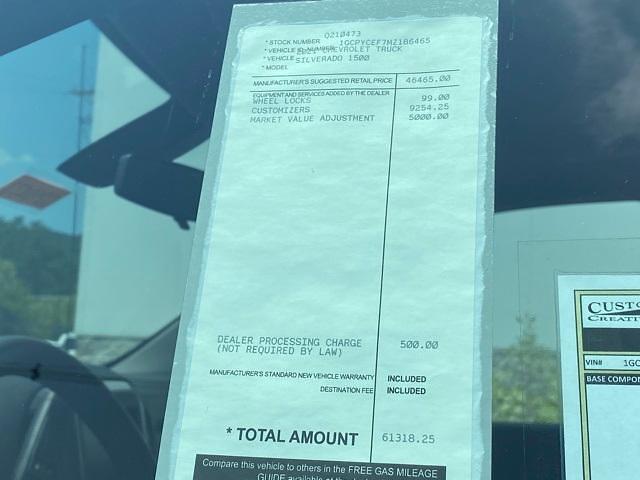 2021 Chevrolet Silverado 1500 Crew Cab 4x4, Pickup #Q210473 - photo 34