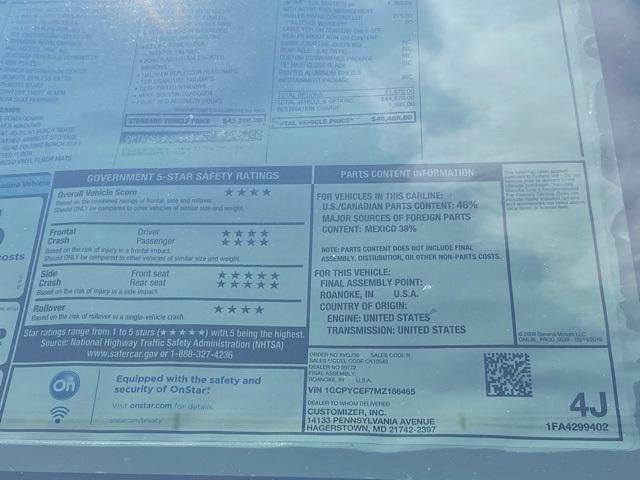 2021 Chevrolet Silverado 1500 Crew Cab 4x4, Pickup #Q210473 - photo 37