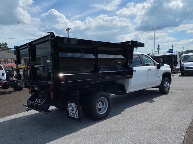 2021 Silverado 3500 Crew Cab 4x4,  Rugby Dump Body #Q210496 - photo 5