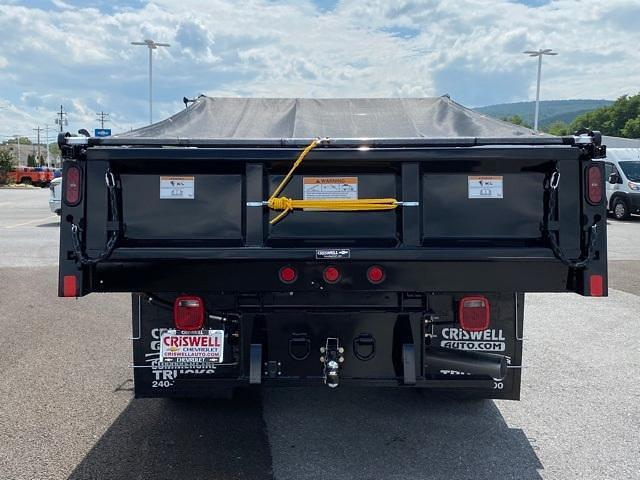 2021 Silverado 3500 Regular Cab 4x4,  Rugby Dump Body #Q210501 - photo 5