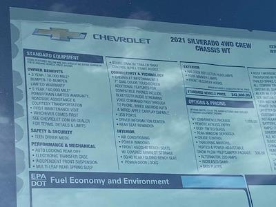 2021 Silverado 3500 Crew Cab 4x4,  Rugby Dump Body #Q210525 - photo 41