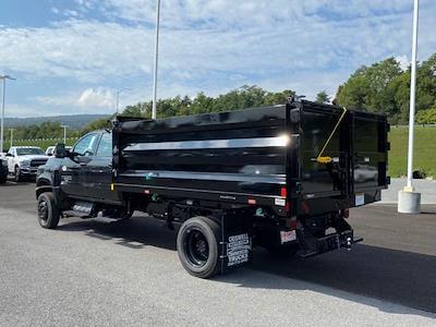 2021 Silverado 5500 Crew Cab DRW 4x4,  Dump Body #Q210562 - photo 2