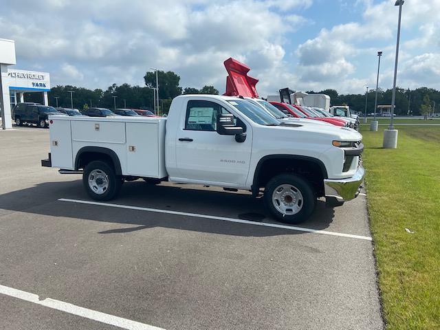 2021 Silverado 2500 Regular Cab 4x2,  Monroe Truck Equipment MSS II Service Body #W210702 - photo 3
